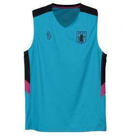 Aston Villa Training Top - Sleeveless - Blue - Kids