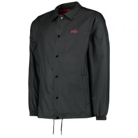 Atlético de Madrid Coaches Shield Jacket - Black