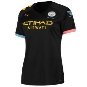 Manchester City Away Shirt 2019-20 - Womens with João Cancelo 27 printing