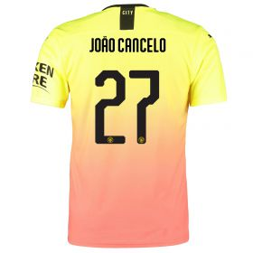 Manchester City Cup Authentic Third Shirt 2019-20 with João Cancelo 27 printing