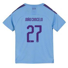 Manchester City Cup Home Shirt 2019-20 - Kids with João Cancelo 27 printing