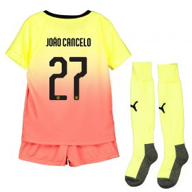 Manchester City Cup Third Mini Kit 2019-20 with João Cancelo 27 printing