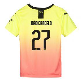 Manchester City Cup Third Shirt 2019-20 - Kids with João Cancelo 27 printing