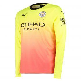 Manchester City Third Shirt 2019-20 - Long Sleeve with João Cancelo 27 printing