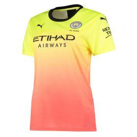 Manchester City Third Shirt 2019-20 - Womens with João Cancelo 27 printing