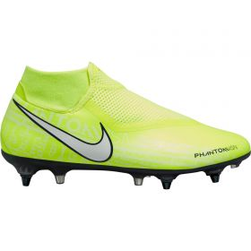 Nike Phantom VSN Academy DF Soft Ground Football Boots - Volt