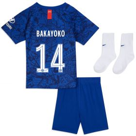 Chelsea Home Cup Stadium Kit 2019-20 - Infants with Bakayoko 14 printing