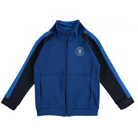 Chelsea Panel Detail Tracksuit Top - Blue - Infant