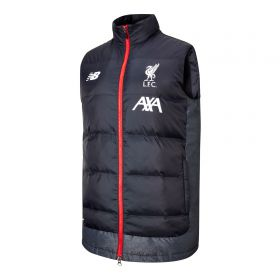 Liverpool Managers Gilet - Black