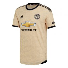 Manchester United Away Authentic Shirt 2019 - 20 with Young 18 printing