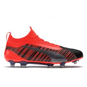 Puma One 5.1 Firm Ground Football Boots - Black