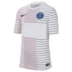 Paris Saint-Germain Pre Match Top - White - Kids