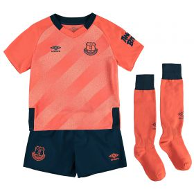 Everton Away Infant Kit 2019-20 with Sidibe 19 printing