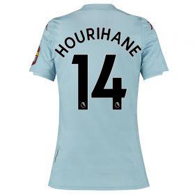 Aston Villa Away Shirt 2019-20 - Womens with Hourihane 14 printing