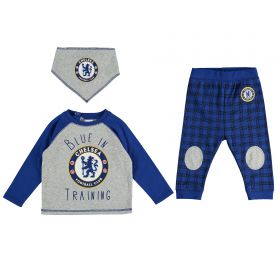 Chelsea Blue in Training 3 Pk PJ Set - Blue - Baby