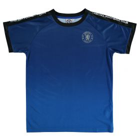 Chelsea Gradient Effect Printed Poly T-Shirt - Blue - Boys