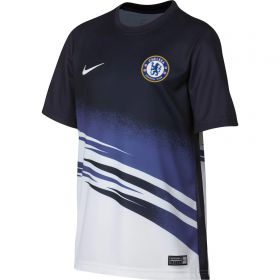 Chelsea Pre Match Top - White