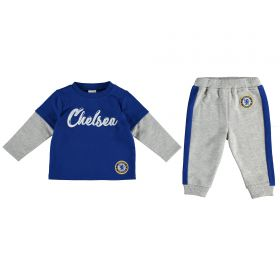 Chelsea Printed Lounge Set - Grey Marl - Infant
