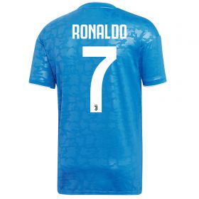 Juventus Third Shirt 2019-20 with Ronaldo 7 printing