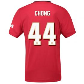 Manchester United Cup Home Shirt 2019 - 20 with Chong 44 printing