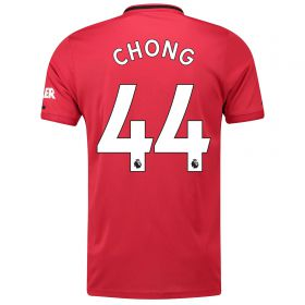 Manchester United Home Shirt 2019 - 20 with Chong 44 printing