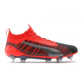 Puma One 5.1 Soft Ground Football Boots - Black