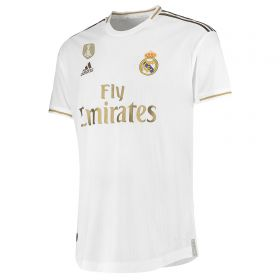 Real Madrid Home Authentic Shirt 2019-20 with Rodrygo 27 printing