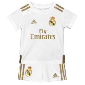 Real Madrid Home Baby Kit 2019 - 20 with Rodrygo 27 printing