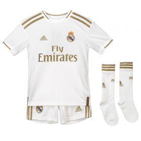 Real Madrid Home Kit 2019 - 20 - Kids with E. Militão 3 printing