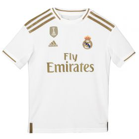 Real Madrid Home Shirt 2019-20 - Kids with Jovic 18 printing