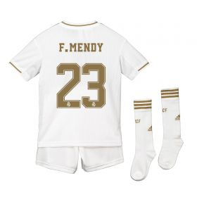 Real Madrid Real Madrid Home Kit 2019 - 20 - Kids with F. Mendy 23 printing