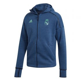 Real Madrid ZNE 3.0 Anthem Jacket - Navy