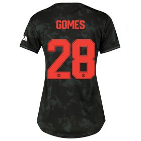 Manchester United Cup Third Shirt 2019 - 20 - Womens with Gomes 28 printing