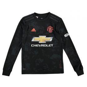 Manchester United Third Shirt 2019 - 20 - Kids - Long Sleeve with Chong 44 printing