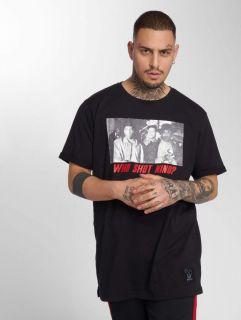 Мъжка тениска Who Shot Ya? / T-Shirt Who Shot Nino in black