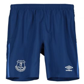 Everton Long Woven Shorts - Dark Blue - Kids