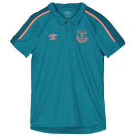 Everton Poly Polo - Blue - Kids