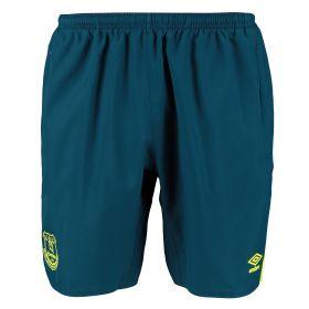 Everton Training Woven Shorts - Blue