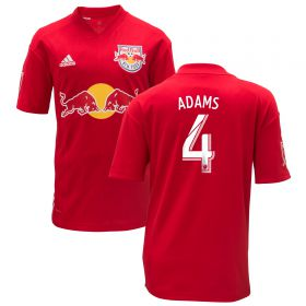 New York Red Bulls Away Shirt 2018 - Kids with Adams 4 printing