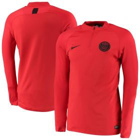 Paris Saint-Germain Strike Drill Top - Red