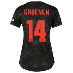 Manchester United Cup Third Shirt 2019 - 20 - Womens with Groenen 14 printing