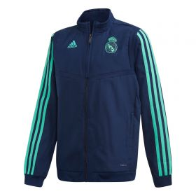 Real Madrid UCL Presentation Jacket - Navy - Kids
