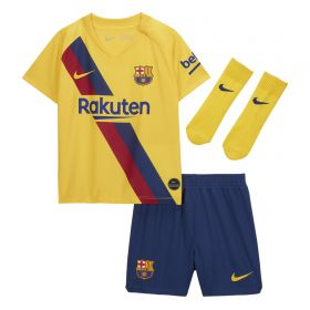 Barcelona Away Stadium Kit 2019-20 - Infants with Piqué 3 printing