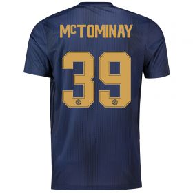 Manchester United Third Cup Shirt 2018-19 with McTominay 39 printing