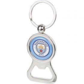 Manchester City Bottle Opener Keyring