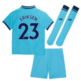 Tottenham Hotspur Third Stadium Kit 2019-20 - Little Kids with Eriksen 23 printing