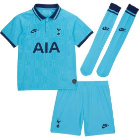 Tottenham Hotspur Third Stadium Kit 2019-20 - Little Kids with Winks 8 printing