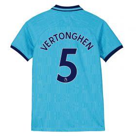 Tottenham Hotspur Third Stadium Shirt 2019-20 - Kids with Vertonghen 5 printing