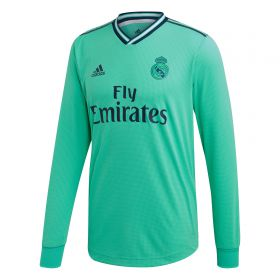 Real Madrid Third Authentic Shirt 2019 - 20 - Long Sleeve