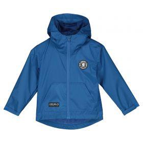 Chelsea Shower Jacket - Blue - Infant